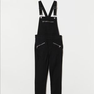 NWT H&M Black Overalls Size 2